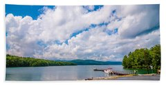 Scenery Around Lake Jocasse Gorge Hand Towel