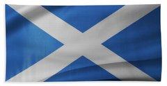 Scottish Flag Bath Towel