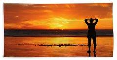 Seaside Reflections  Hand Towel