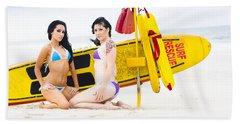 Sexy Lifesaver Beach Patrol Bath Towel