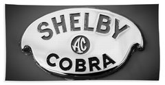 Shelby Ac Cobra Emblem -0282bw Bath Towel