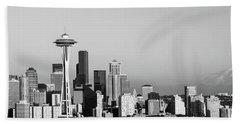 Skyline, Seattle, Washington State, Usa Hand Towel