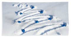Snow Tree Bath Towel