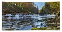 Squaw Rock - Chagrin River Falls Hand Towel