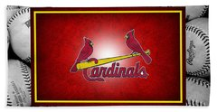 St Louis Cardinals Bath Towel