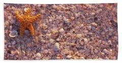 Starfish On The Beach, Lovers Key State Hand Towel