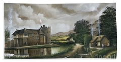 Stokesay Castle Bath Towel