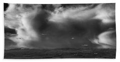 Storm Over The Kittitas Valley Hand Towel