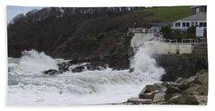 Stormy Falmouth Bath Towel