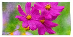 Summer Garden Hand Towel
