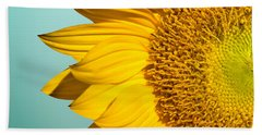 Sunflower Hand Towel by Mark Ashkenazi