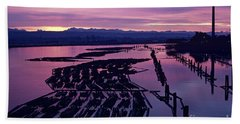 Sunrise Lumber Mill Bath Towel