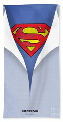 Superman 9 Hand Towel