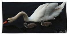 Swan Elegance Hand Towel