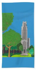 The Cathedral Of Learning Hand Towel