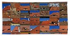 The City's Eyes Sibiu Hermannstadt Romania Hand Towel