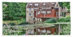 Bath Towel featuring the photograph The Old Mill Avoncliff by Paul Gulliver