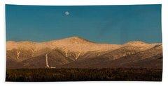 The Presidential Range White Mountains New Hampshire Bath Towel