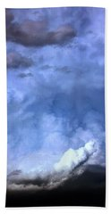There Be A Storm A Brewin In Nebraska Bath Towel