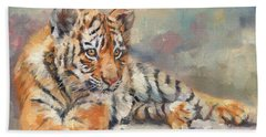 Tiger Cub Hand Towel
