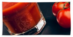 Tomato Juice Hand Towel