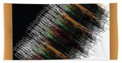 Bath Towel featuring the digital art Tourbillon by Mihaela Stancu