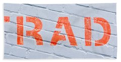 Trade Sign Bath Towel