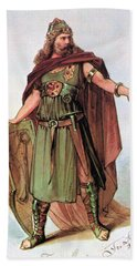 Tristan And Isolde, 1865 Hand Towel