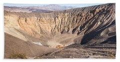 Ubehebe Crater Bath Towel by Muhie Kanawati