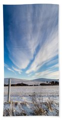Under Wyoming Skies Bath Towel