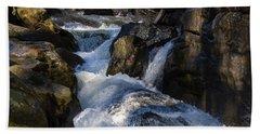 unnamed NC waterfall Bath Towel