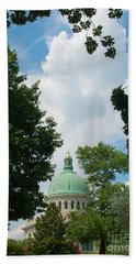 Us Naval Academy Chapel Dome Hand Towel