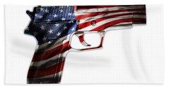 Usa Gun 1 Bath Towel