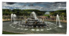 Versailles Fountain Hand Towel