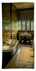 Bath Towel featuring the photograph Victorian Wash Room by Adrian Evans