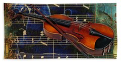 Violin Collection Hand Towel