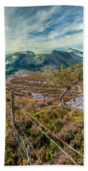 Welsh Mountains Hand Towel