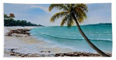 West Of Zanzibar Bath Towel by Sher Nasser