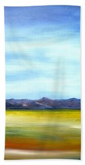 West Texas Landscape Hand Towel