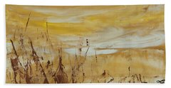 Wheat Fields Bath Towel