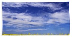 Where Land Meets Sky Bath Towel by Keith Armstrong