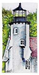 White River Station Hand Towel