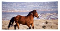 Eagle - Wild Horse Stallion Hand Towel