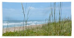 Archie Carr Beach And Wildlife Refuge Hand Towel by Carol  Bradley