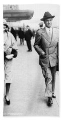 William Kissam Vanderbilt II (1878-1944) Bath Towel by Granger
