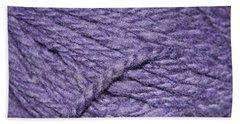 Wool Pattern Bath Towel