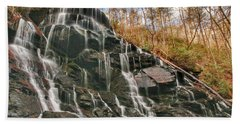 Yellow Branch Falls Bath Towel