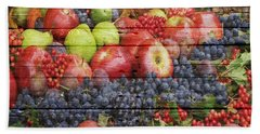 Fruit Bath Towel