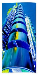 Lloyd's Building London Art Hand Towel