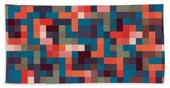 Pixel Art Hand Towel